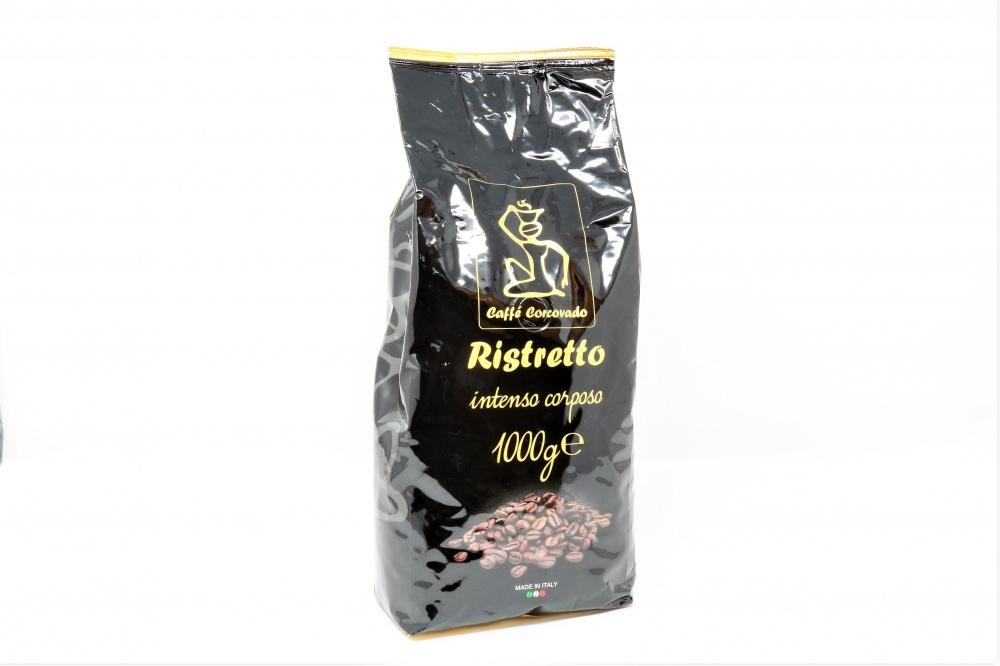 CAFFE´ IN GRANI RISTRETTO INCARTO ORO L´indiscussa miscela tosta, come a Napoli sanno fare: 100% robusta, tostatura forte, massima concentrazione di caffeina per un caffè tanto scuro quanto forte. Robusta forte 100%