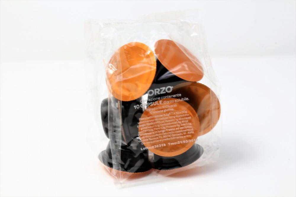 Capsule Orzo compatibili Lavazza A Modo Mio Confezione da 100 pezzi Il più denso e corposo caffè d´orzo dal sapore unico Senza zucchero Senza grassi idrogenati
