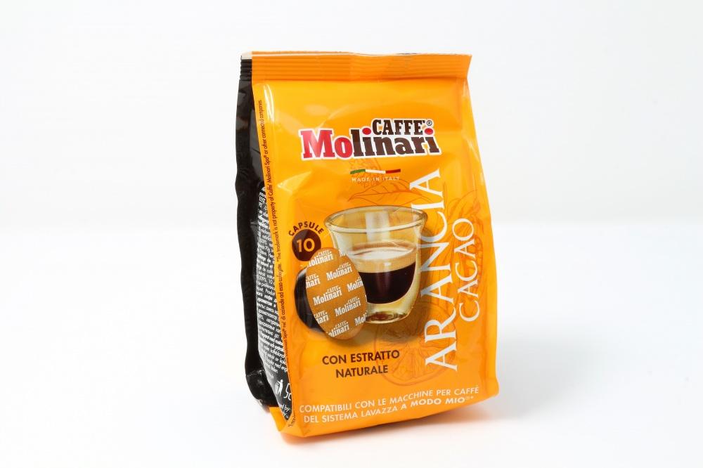 Capsule compatibili Lavazza a Modo Mio aromatizzate Arancia Cacao Molinari Caffè