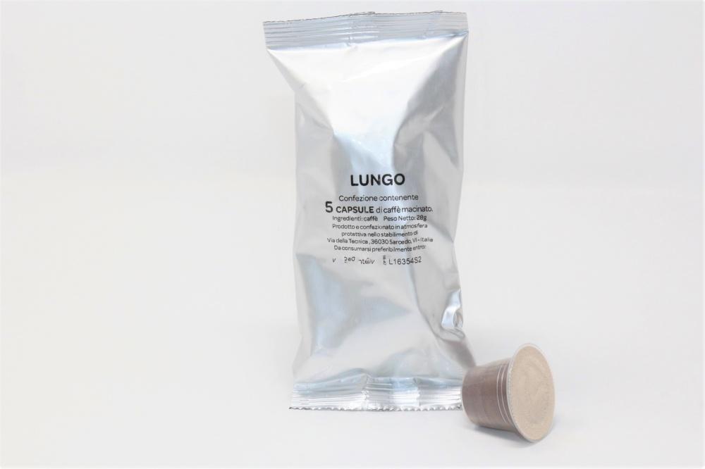 Una miscela eccellente sia per cremosità in tazzina che per qualità. Al palato richiama il gusto del caffè all´americana, con una macinatura più grossa  Arabica 30-40% Robusta 70-60%