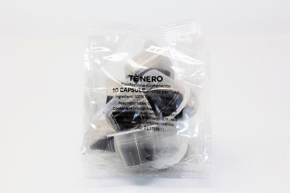 Tè Nero La Compatibile clone Nespresso Confezione da 30 pezzi  Bevanda con foglie di tè nero dello Sri Lanka  Senza zucchero  SPEDIZIONE GRATUITA ordini superiori a 60€